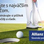 Cestovné poistenie pre hráčov golfu